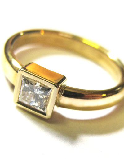 Wedding-and-Engagement-22ct-Gold-and-Diamond-Ring-1